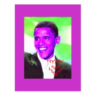 ObamaHype Postcard