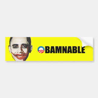 OBAMANABLE BUMPER STICKERS