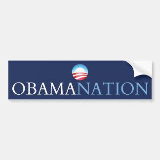 obamanation blue (obamination) bumper sticker