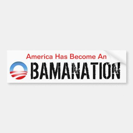 Obamanation Bumper Stickers