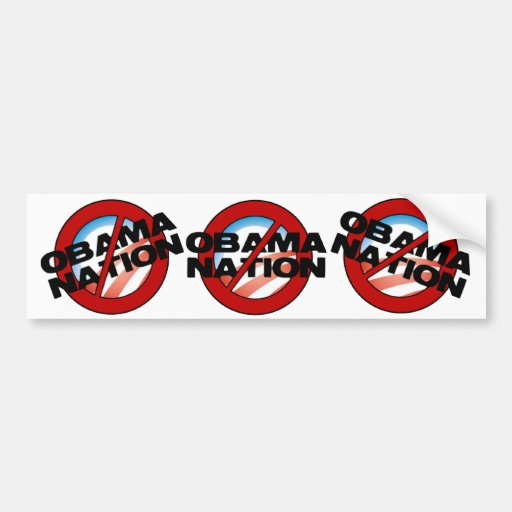 ObamaNation Buster Bumper Stickers