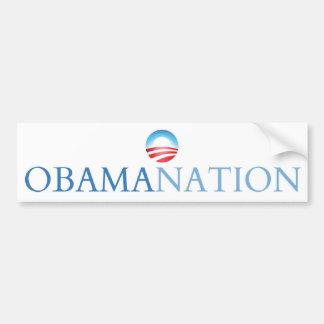 Obamanation White (Obamination) Bumper Sticker
