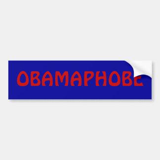 OBAMAPHOBE BUMPER STICKER