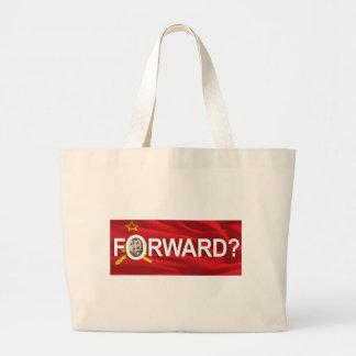 "Obama's ""Forward?"" Jumbo Tote Bag"