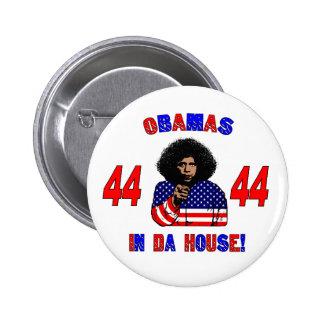 Obamas In Da House Button