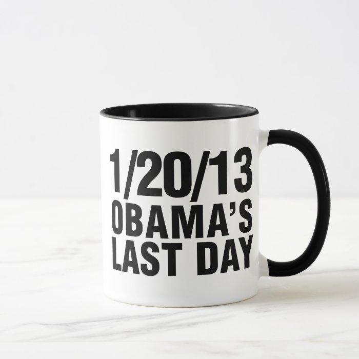 Obamas Last Day 1/20/13 Mug