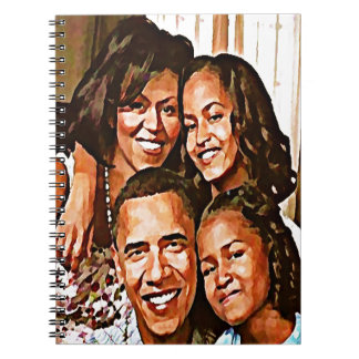 Obama's Love_ Spiral Notebooks