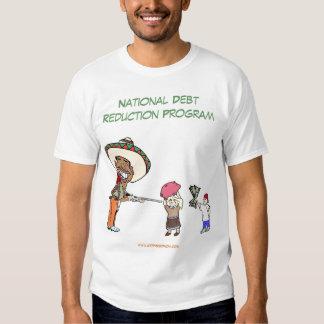 Obama's National Debt Reduction Program Tshirt