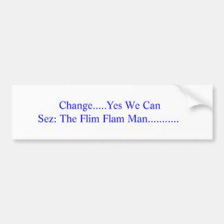 Obama's Plan Bumper Sticker