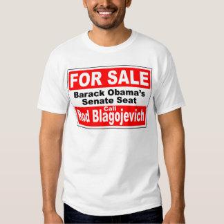 Obama's Senate Seat for Sale Tee Shirt