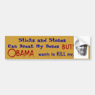 Obama's Style Health Care Car Bumper Sticker