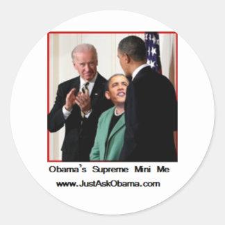 Obama's Supreme Mini Me Sticker