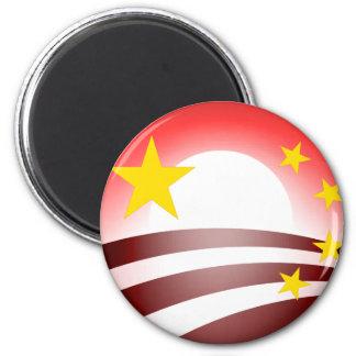 Obama's Totalitarian Plan - Chinese Socialism Fridge Magnets