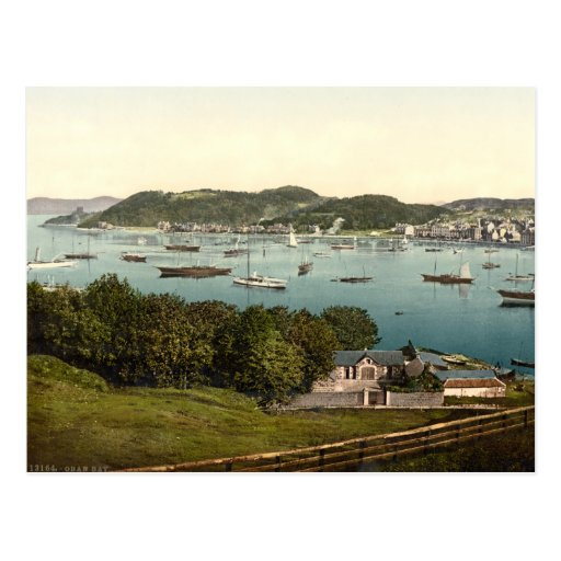 Oban Bay, Argyll and Bute, Scotland Post Card