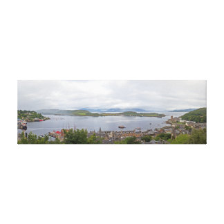Oban Panorama Canvas Print