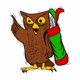 Obediah Owl Acrylic Cut Out