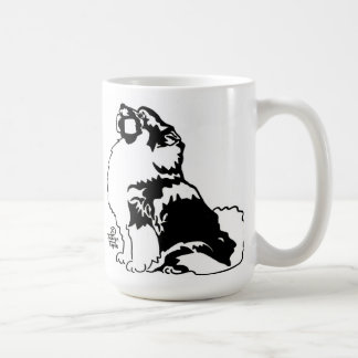 Obedience Keeshond Coffee Mug