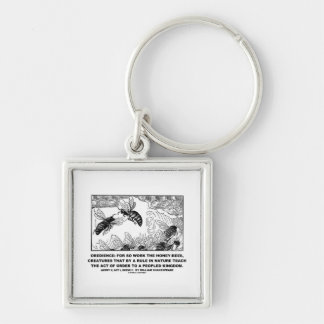 Obedience Work Honey-Bees Henry V Shakespeare Keychains