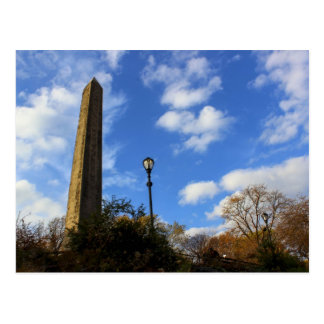 Obelisk, Cleopatra's Needle in Central Park, NYC Postcard