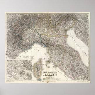 Ober, MittelItalien - Rome Region Poster
