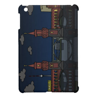 Oberbaum Bridge Berlin at night iPad Mini Covers