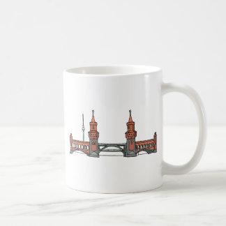 Oberbaum Bridge in Berlin Coffee Mug