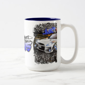 OBERLOW RACING Mug BY ORGANIZED CHAOS