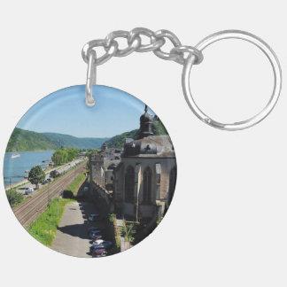 Oberwesel on the Rhine Key Ring