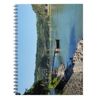 Oberwesel on the Rhine Spiral Notebook