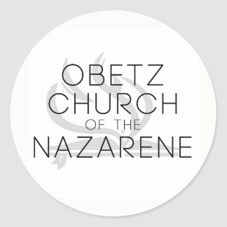 Obetz Church of the Nazarene Classic Round Sticker