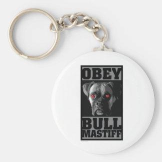 OBEY! BULLMASTIFF KEY RING