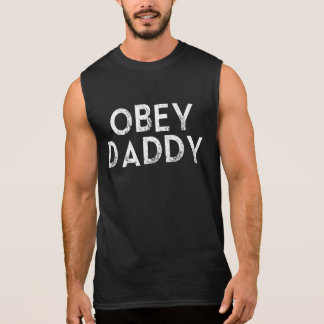 OBEY DADDY SLEEVELESS SHIRT