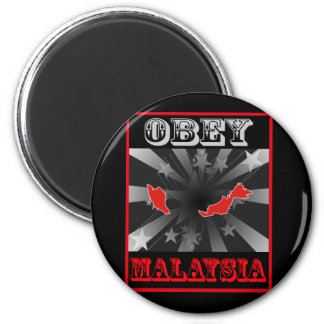 Obey Malaysia 6 Cm Round Magnet
