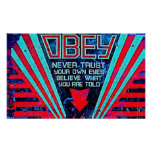 Obey! Poster