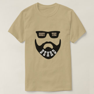 "Obey the Beard Brown ""Eyes"" T-Shirt"