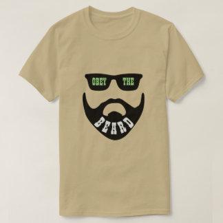 "Obey the Beard Green ""Eyes"" T-Shirt"