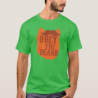 OBEY the BEARD T-Shirt