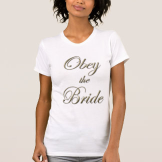 Obey the Bride Tank Top