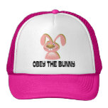 Obey the Bunny Trucker Hats