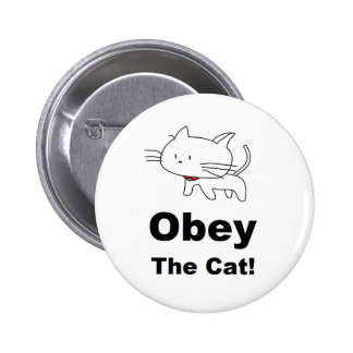 Obey the cat button