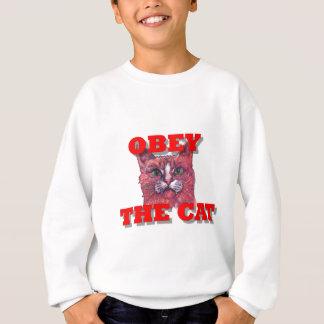 Obey the Cat Sweatshirt