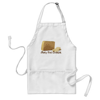 Obey the Cheese Apron