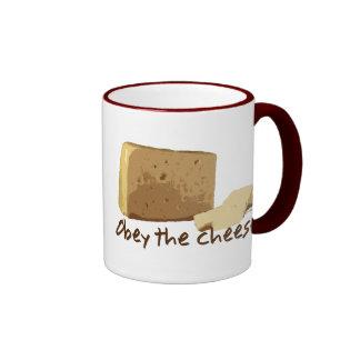 Obey the Cheese Coffee Mug