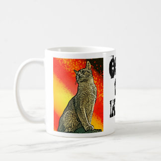 Obey the Kitty Coffee Mug