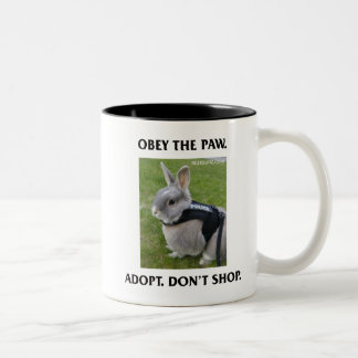 Obey the Paw Mug