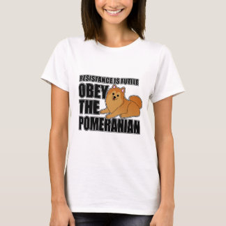 Obey The Pomeranian T-Shirt