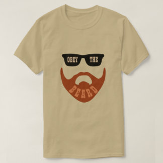 "Obey the (Red) Beard Brown ""Eyes"" T-Shirt"