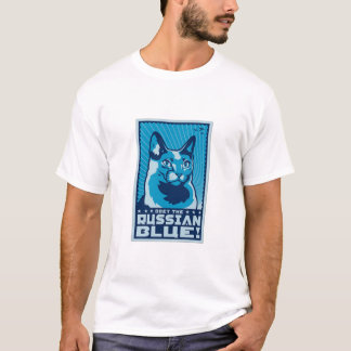Obey The Russian Blue T-Shirt