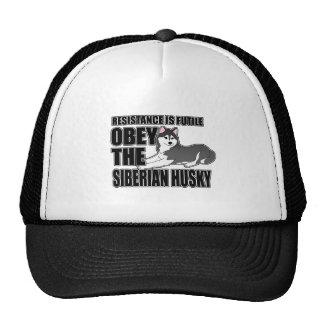 Obey The Siberian Husky Cap