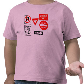 Obey Your Signs Tee Shirts